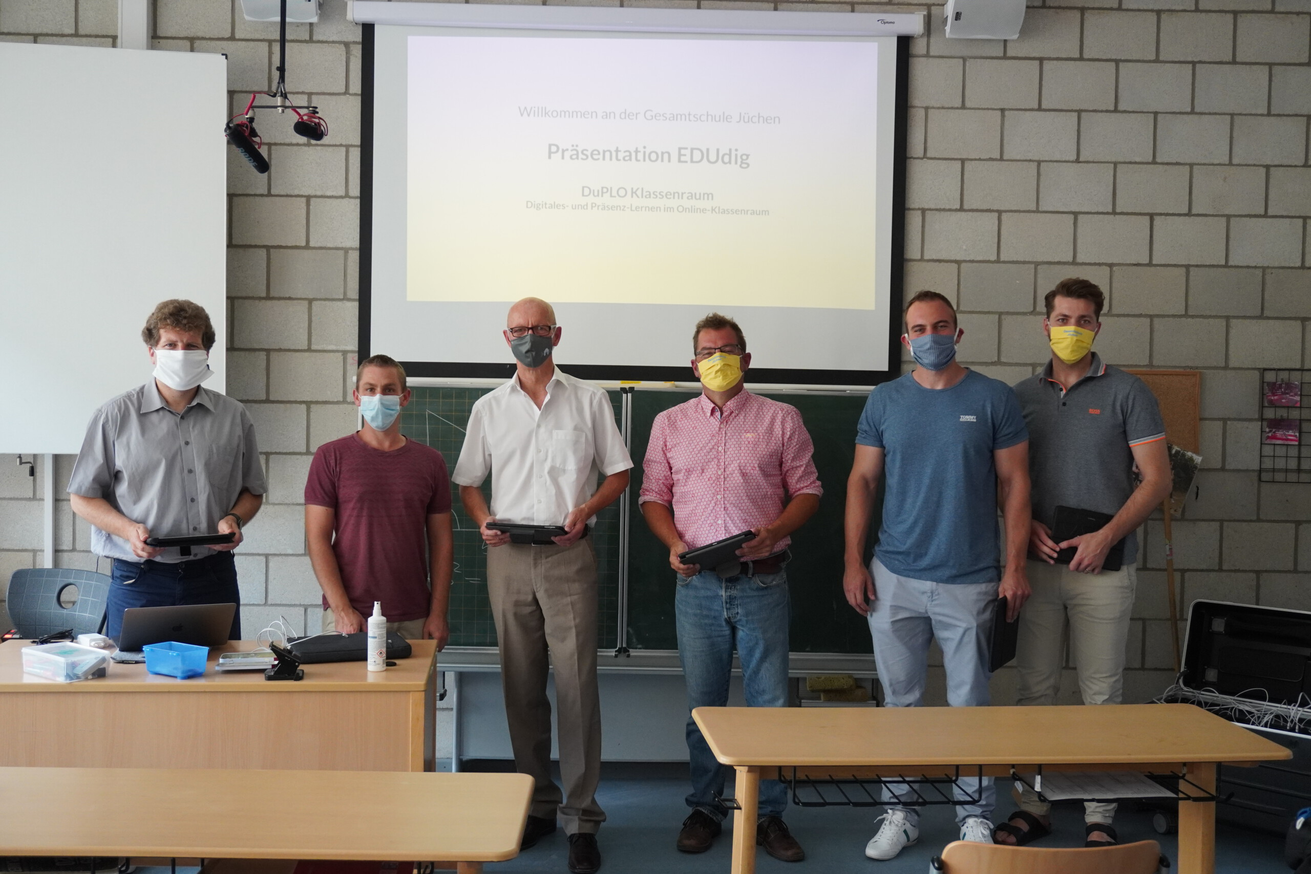 Gesamtschule Jüchen präsentiert DuPLO-Klassenraum